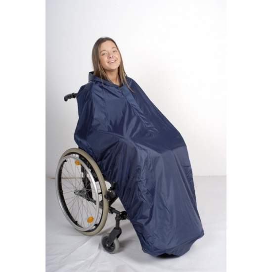 Coat Raincoat H8680 - Wheelchair waterproof coating