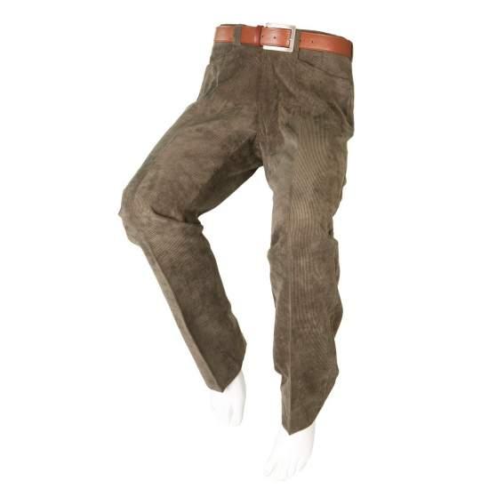 PANA ADAPTÉ VERT PANTALON Hommes - Automne Hiver - Pantalon de velours vert adaptés pour les personnes en fauteuil roulant