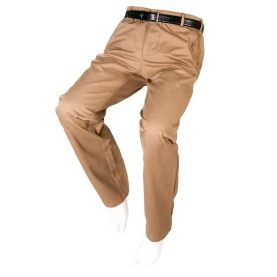 PANTALÓN ADAPTADO SPORT DE VERANO Hombre – Otoño Invierno - Pantalón de vestir casual en color beige adaptado a personas en silla de ruedas