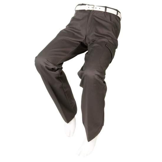 PANTALÓN ADAPTADO CON BOLSILLO LATERAL Hombre – Otoño Invierno - Pantalón gris con bolsillos laterales adaptado a usuarios con movilidad reducida