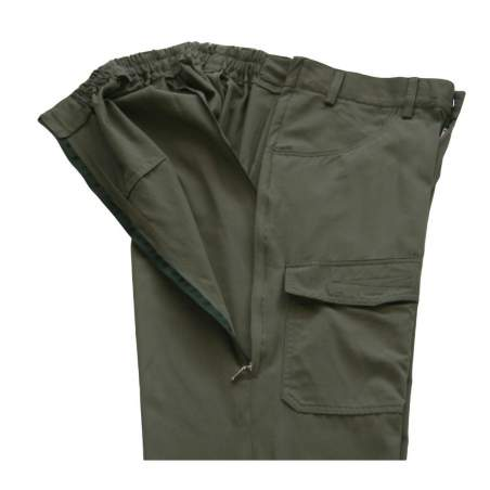 ADAPTED TYPE CARGO PANTS ZIPPERS SIDE Man - Spring Summer