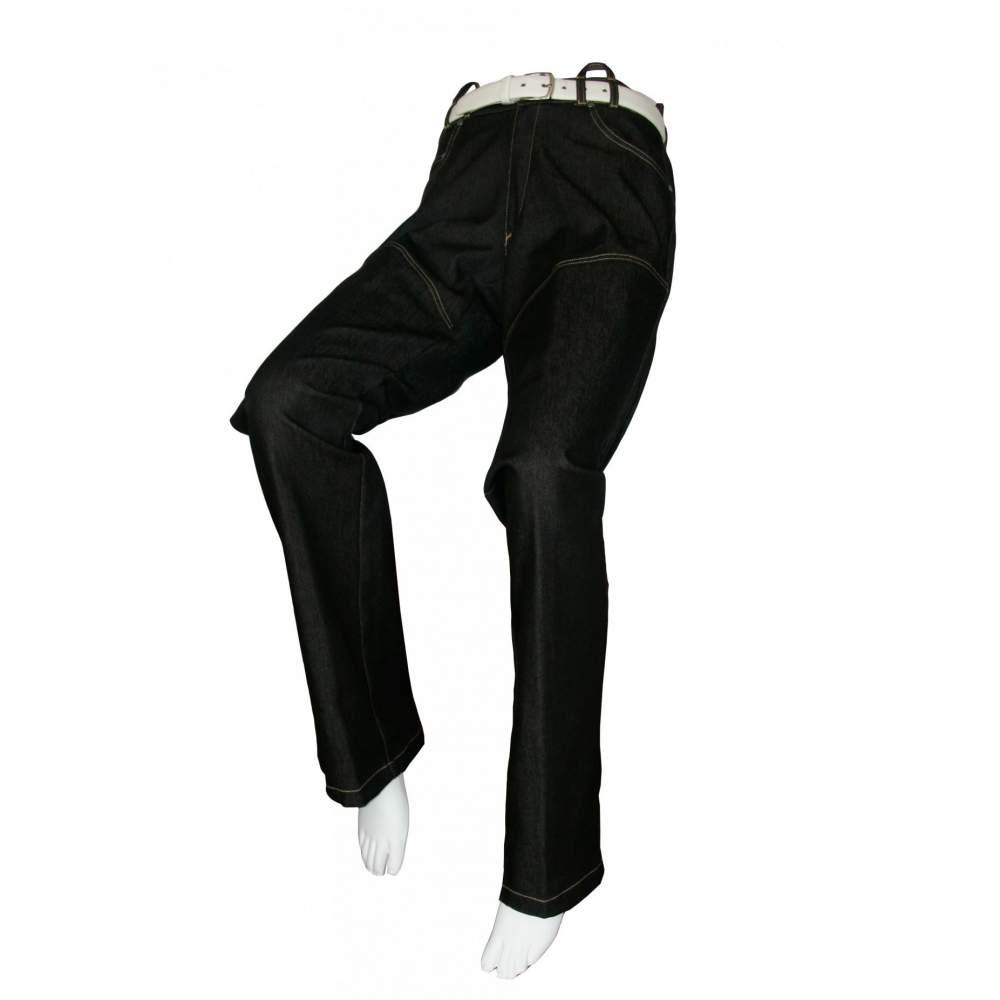 VAQUERO ADAPTADO NEGRO Hombre – Primavera Verano - Pantalón vaquero en color negro adaptado para usuarios en silla de ruedas