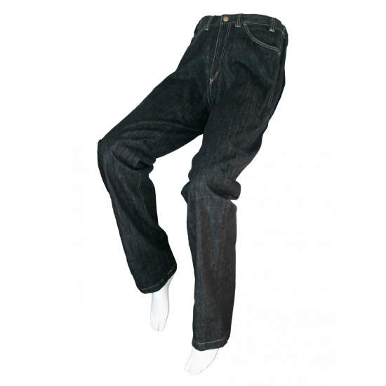 ADATTATO NERO JEANS Unisex - Primavera, Estate, Autunno, Inverno - Colore jeans neri attrezzate per persone in sedia a rotelle