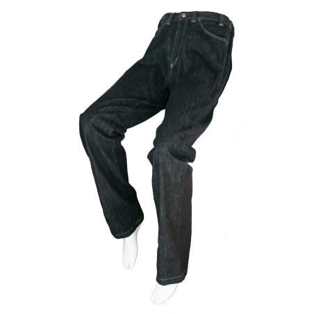 ADAPTED BLACK JEANS Unisex - Spring, Summer, Fall, Winter