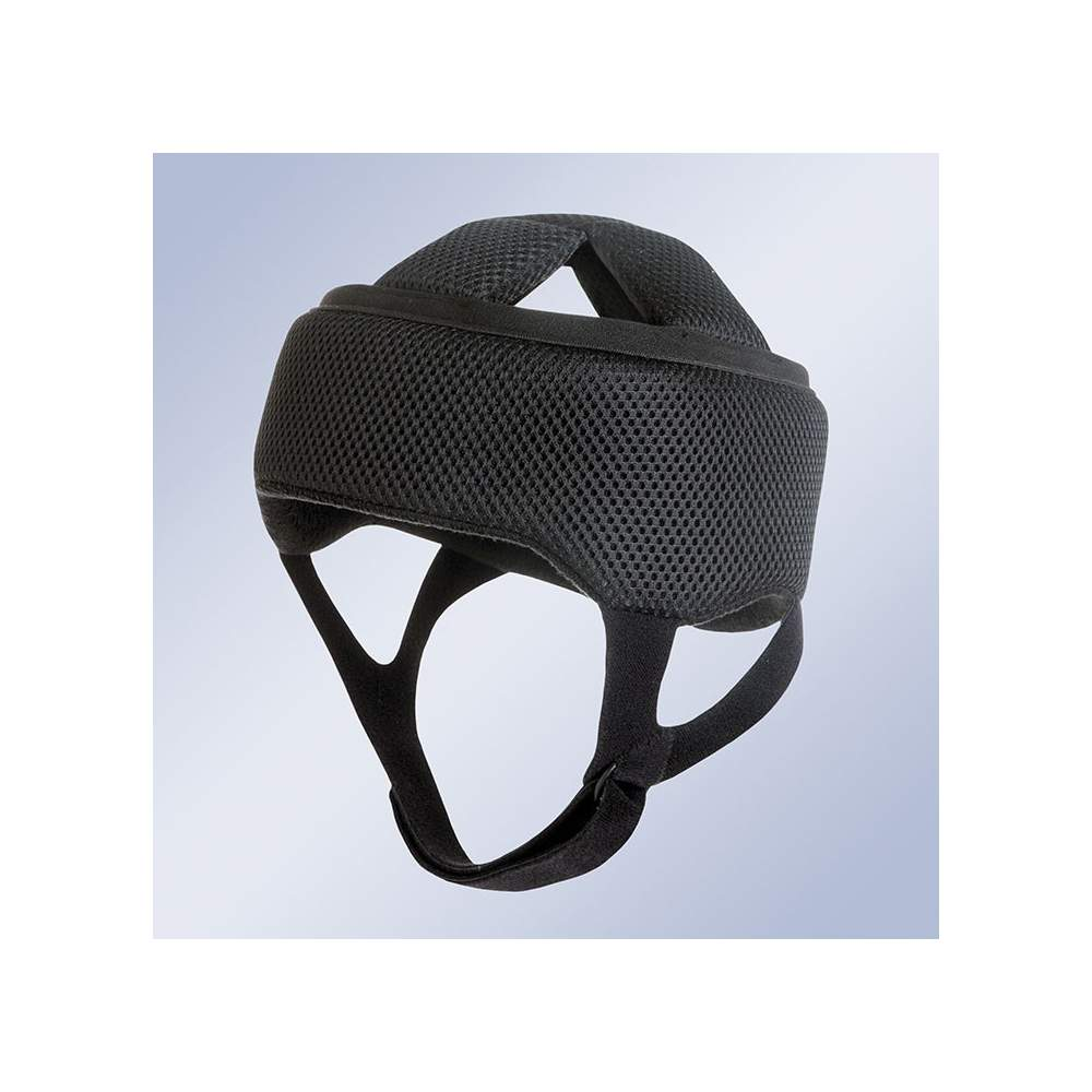 Helmet head protection H100 - The new Orliman cranial helmet, made of soft materials provides a smooth protective in patients with cerebral palsy, hemophilia, ataxia and other, ensuring a soft cushioning...