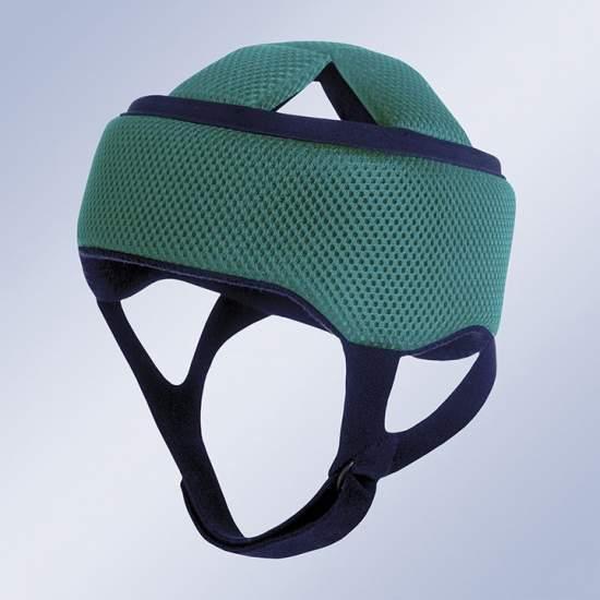 Proteção da cabeça capacete H100 - O novo capacete craniano Orliman, feito de material macio proporciona uma suave protetor em pacientes com paralisia cerebral, hemofilia, ataxia e outros, garantindo um impacto amortecimento suave, choques e arranhões.