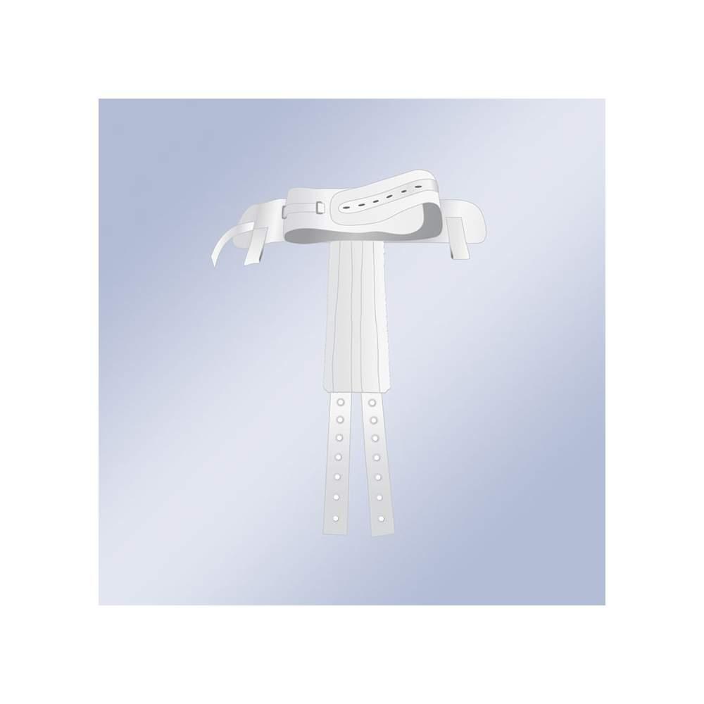 Arnes Perineal A Cinturon C/Imanes Orliman 1016 - El arnés perineal a cinturón se complementa como un accesorio del cinturón 1010, tiene la finalidad de evitar los desplazamientos (hacia abajo) del paciente,