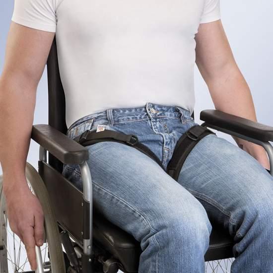 Cinghie LEG ABDUZIONE FIX-ARNETEC - Fabbricato in imbottitura in neoprene, si compone di 2 cinghie separate per gamba sinistra e destra la cui estremità superiore è attaccata da una fibbia con perno Ratier