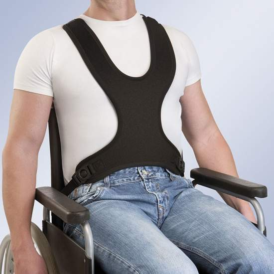TECHNICAL vest harness -ARNETEC FIX FIX-ARNETEC - Padding made of neoprene, has at its ends fastening straps adjustment system of its length, said straps have at one end with a pin hole for fastening by screw chairs.