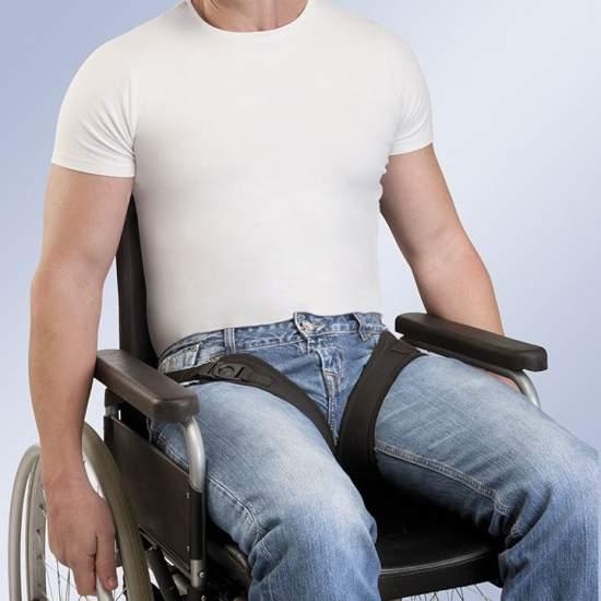 HARNAIS LEG ENLÈVEMENT FIX-ARNETEC - Fabriqué en néoprène rembourrage, la base est constituée de ceux qui sont nés assis sur la zone arrière 2 sangles et 2 sangles périnéales antérieurement séparés