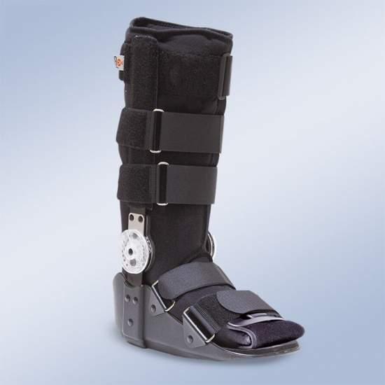 Walker articolato - Il design leggero e resistente è composto pad Surround materiale traspirante gamba, piede (compresa la zona di punta) e della caviglia.