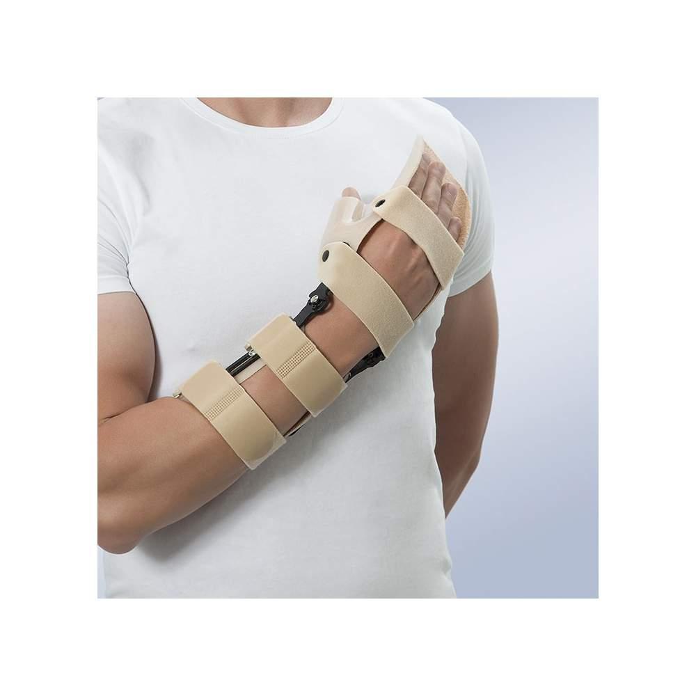 Attelle de poignet articulé