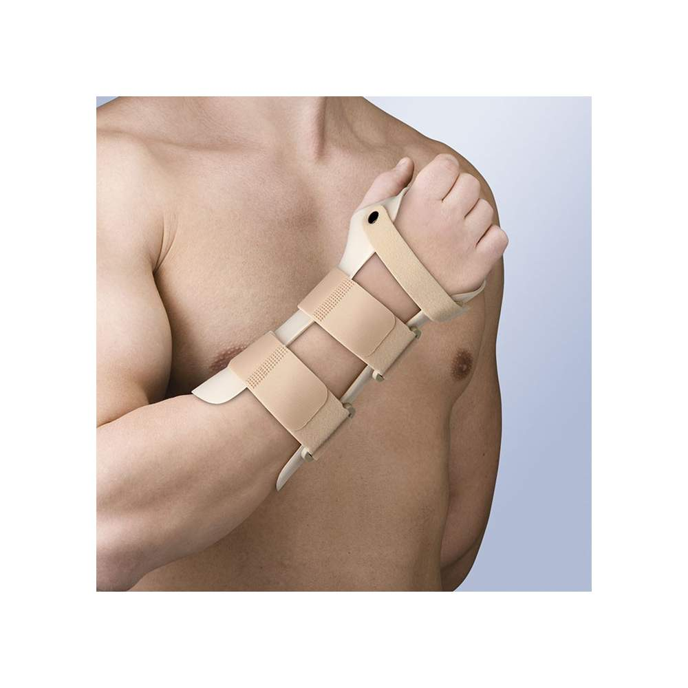 Attelle au poignet immobilisation thermoplastique