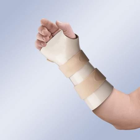 Splint do pulso imobilização termoplástico