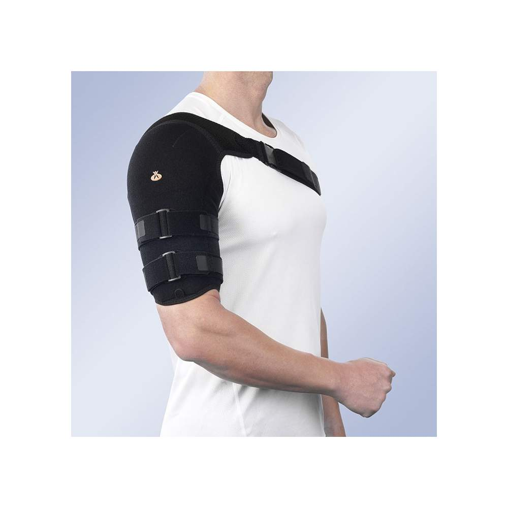 HUMERAL BRACE WITH LINING TEXTILE-SHORT
