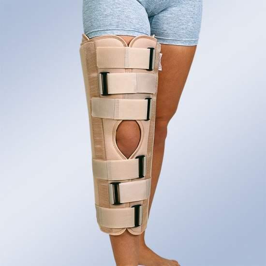 Immobilisation du genou orthèse (40 cm.)