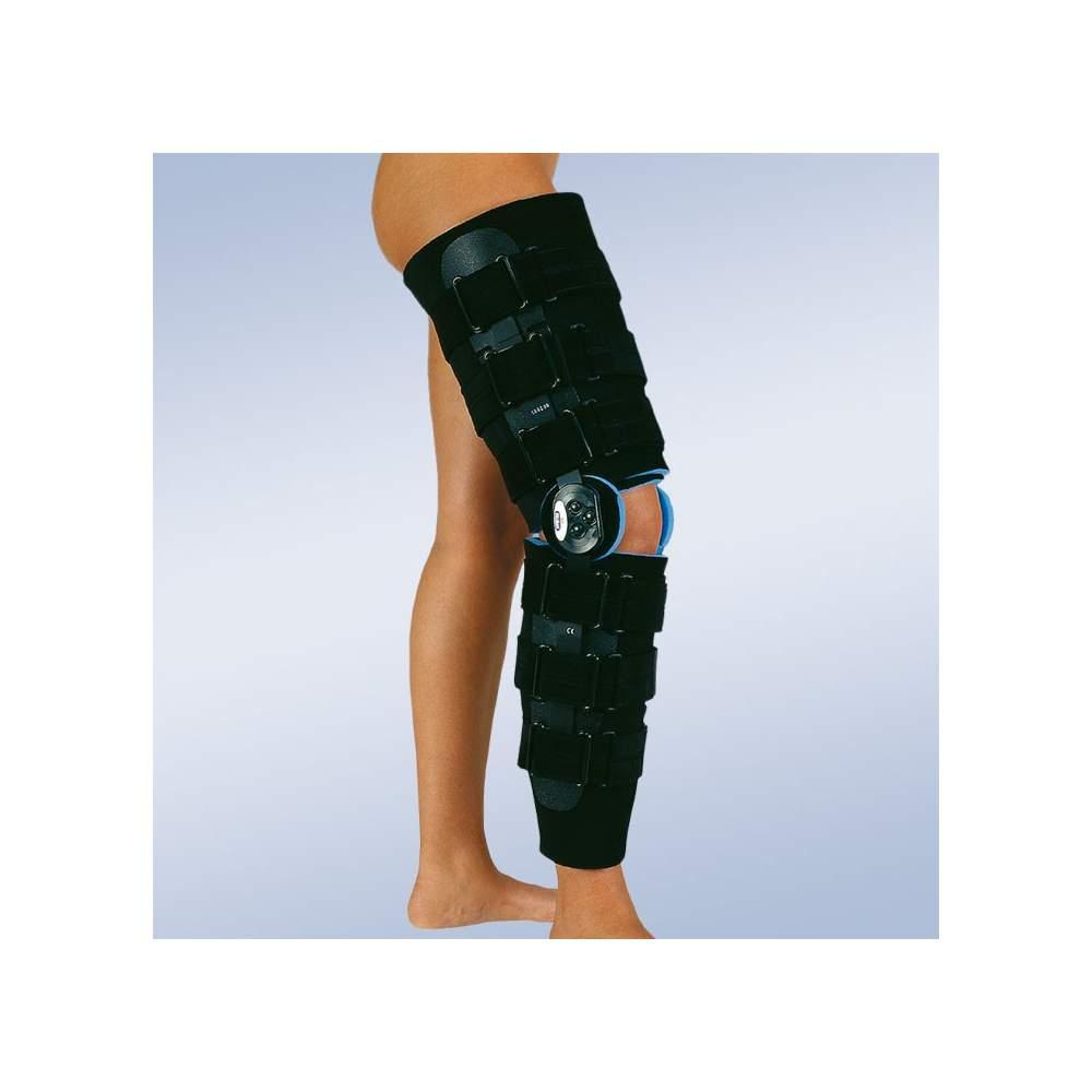 Brace flexão do joelho pós-cirúrgico e extensão de longo
