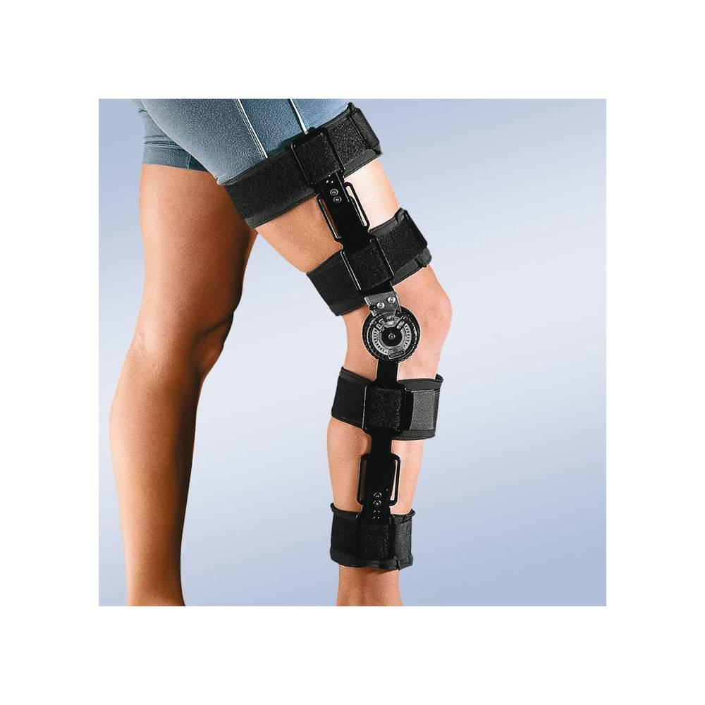 Tutore al ginocchio con serratura