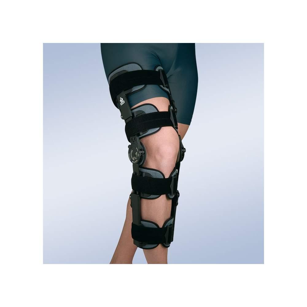 Brace regolabile ginocchio blocco (4 fasce strette, 4 cinghie)