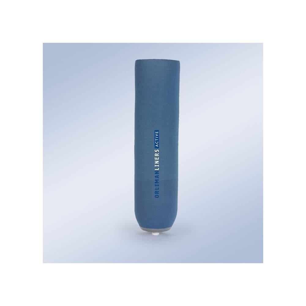 Liner tibial de silicona con pin-Modelo Active