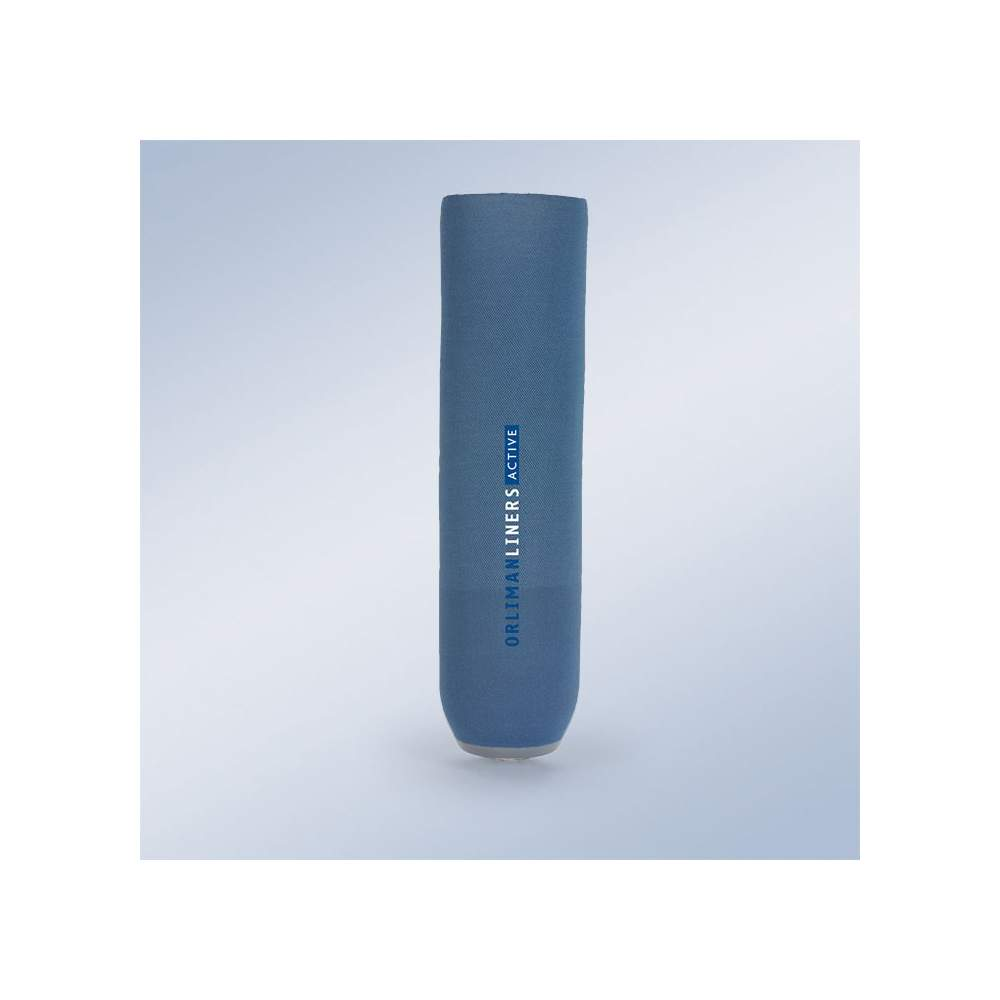 Tibial silicone liner without pin. ACTIVE.