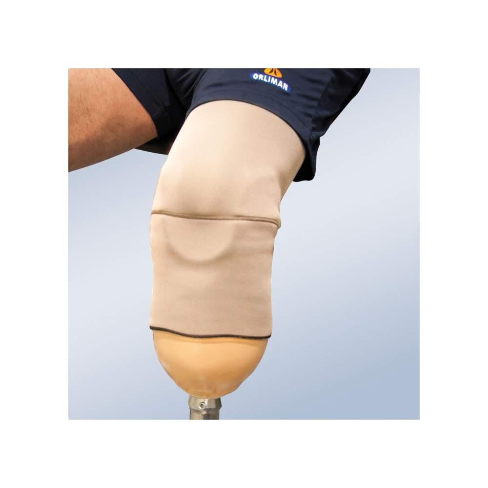 Système de suspension pour tibial prothèse.