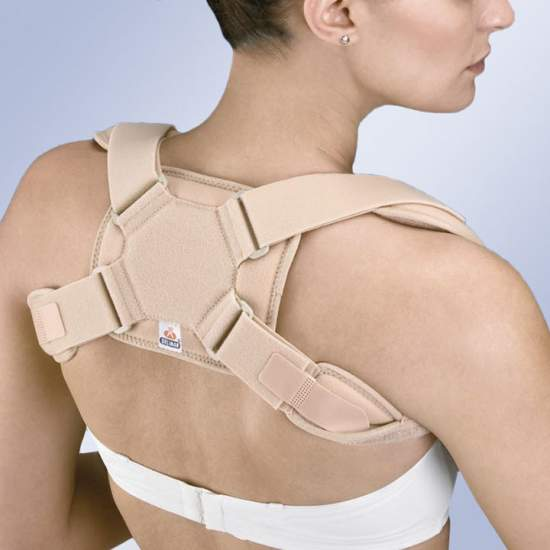 Immobilizer clavicle padding - The new model of restraint clavicle IC 30, presents significant improvements in both comfort and design for adaptation and regulation.