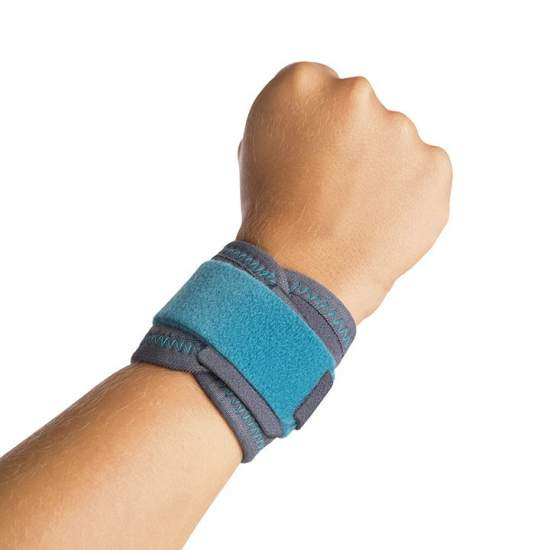Pediatric Wristband - Pediatric Wrist Honeycomb manufactured from breathable and elastic velor, has a locking system velcro strap for regulating the compression