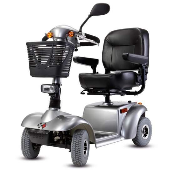 Scooter Fortis de B & B - El scooter fortis es de fácil acceso, le permite arrancar la marcha en un abrir y cerrar de ojos. Nunca antes fue tan cómodo y sencillo el acceso a un scooter.