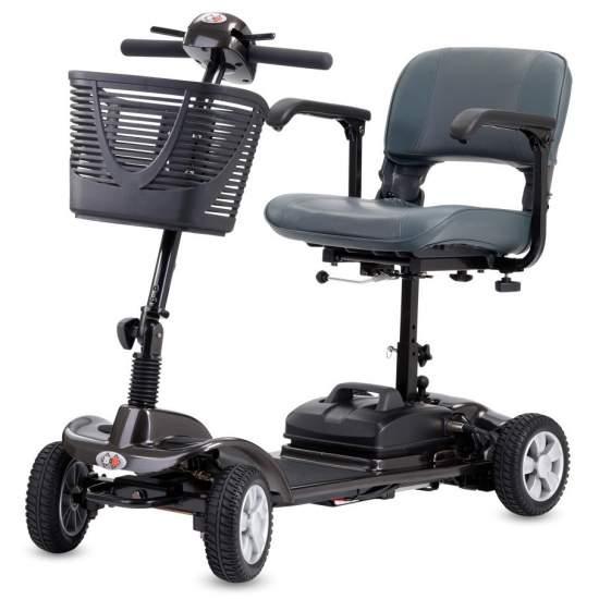 Scooter Flip - El versátil mini-scooter Flip le guiará cómodamente por la ciudad. Ya sea en el centro comercial o en espacios cerrados, le llevará a su destino sin cansancio.