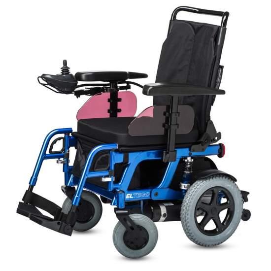 Eltego, cadeira de rodas elétrica - A cadeira de rodas Eltego com o seu valor atraente fornece acesso à classe compacta da B + B.