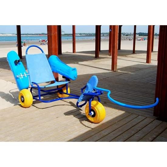 Silla anfibia Oceanic para Adultos - Novaf presenta OCEANIC, una nueva y revolucionaria silla anfibia para el baño de personas con movilidad reducida.