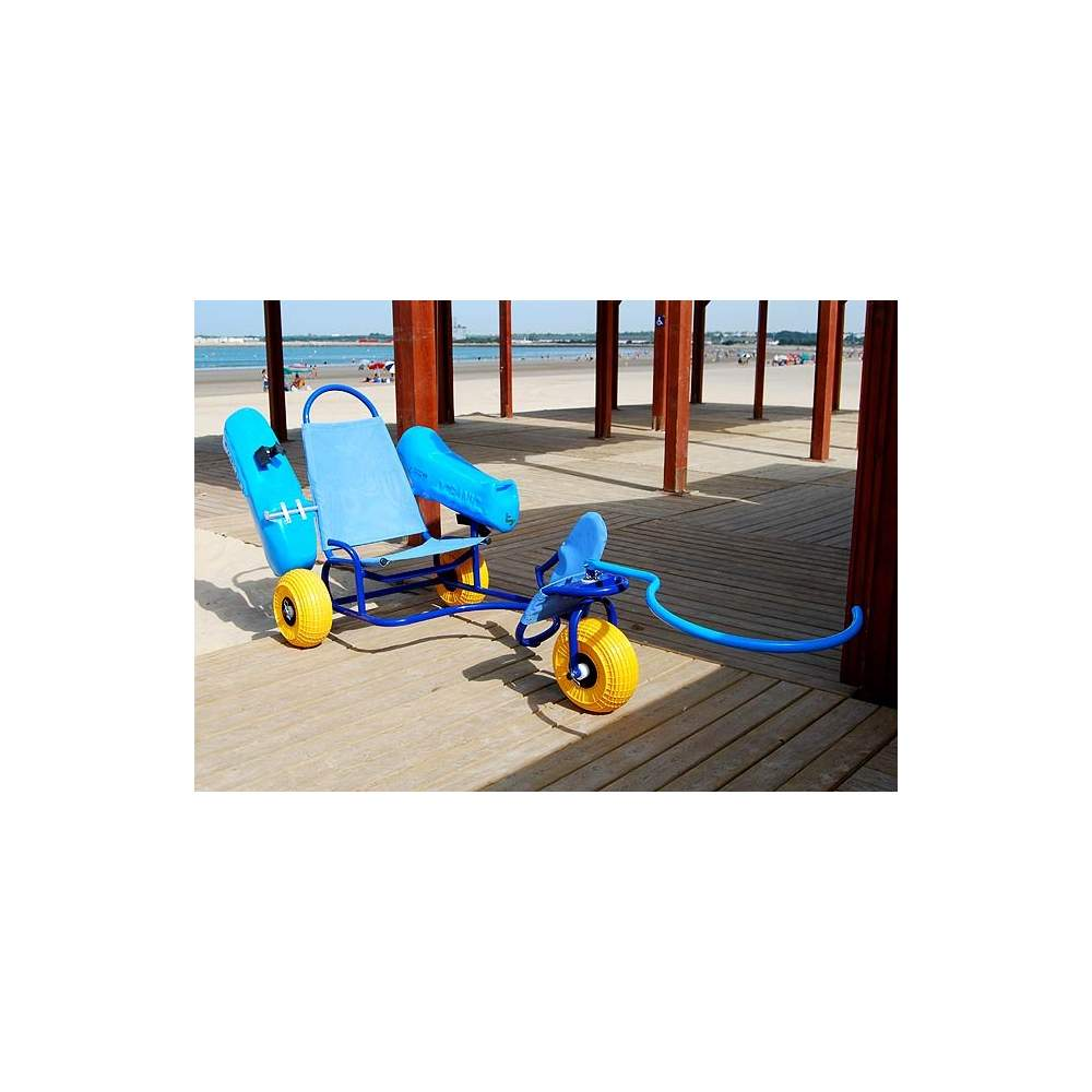 Cadeira anfíbia oceânica para adultos