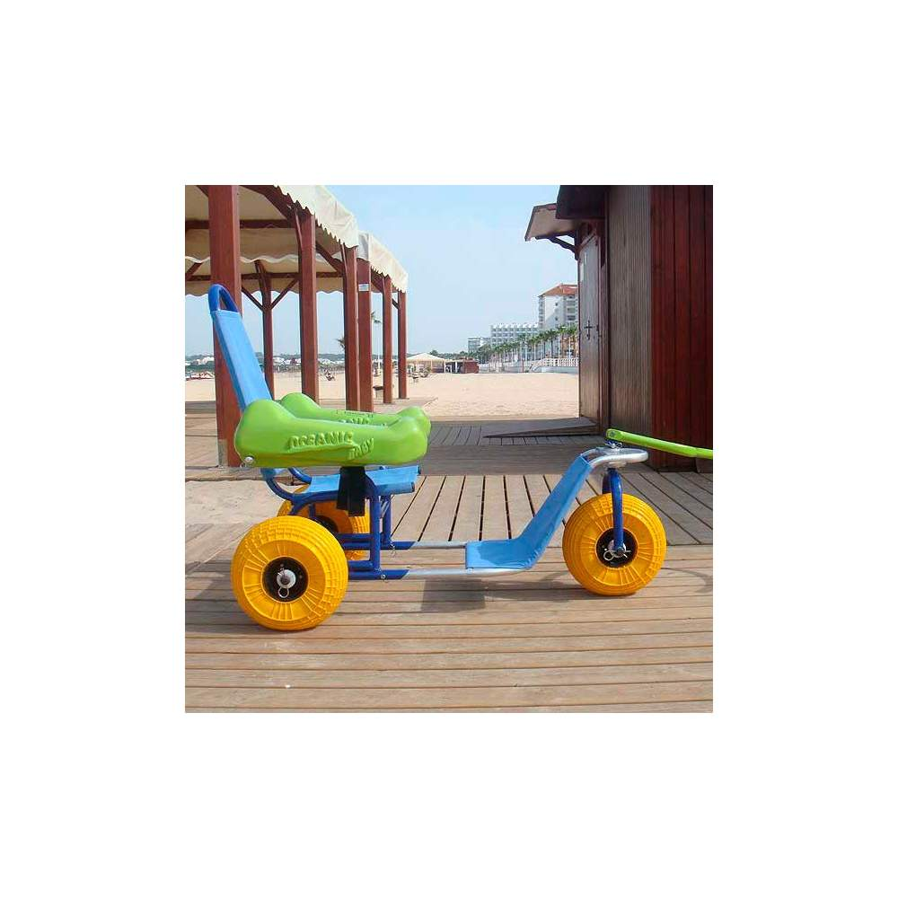 Amphibious chair for children Oceanic Baby -  Oceanic Baby is the first amphibious chair for children with disabilities.
