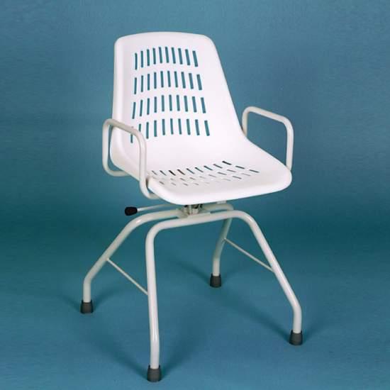 INOX chaise pivotante - INOX chaise pivotante