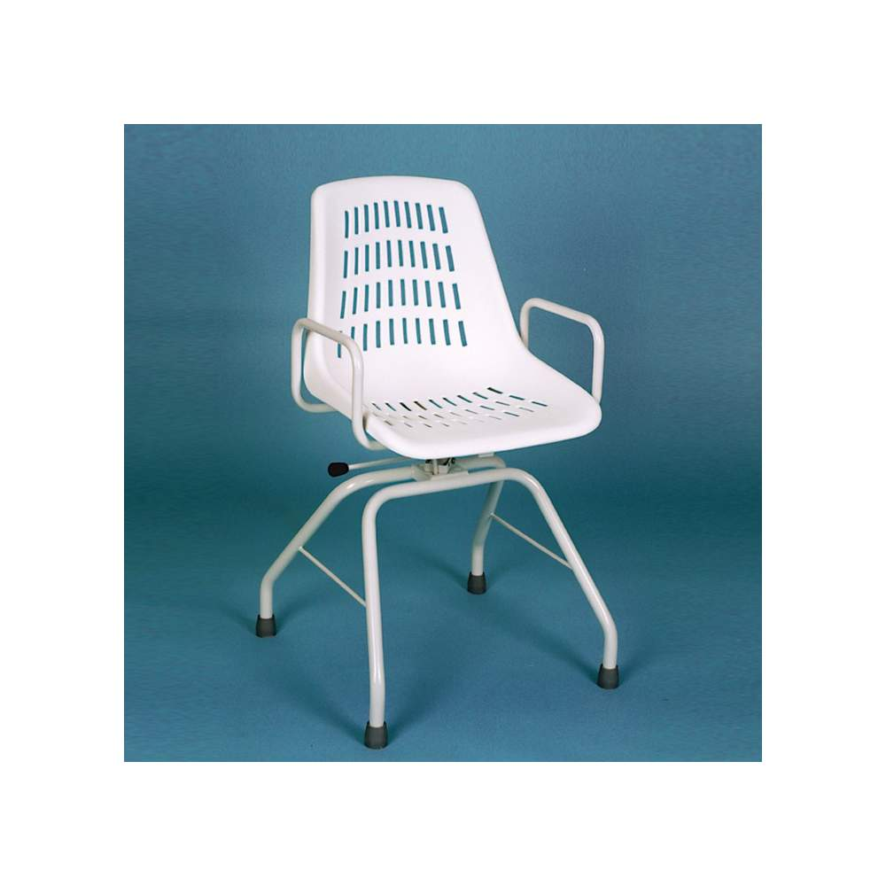 INOX chaise pivotante