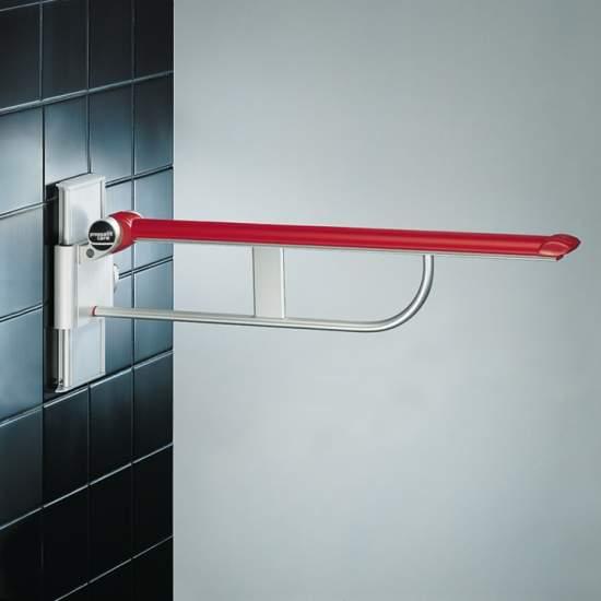 BARRA ABATIBLE PRESSALIT 85 cm. BLANCO RECORRIDO GRADUABLE 25 cm. - BARRA ABATIBLE PRESSALIT 85 cm. BLANCO RECORRIDO GRADUABLE 25 cm.