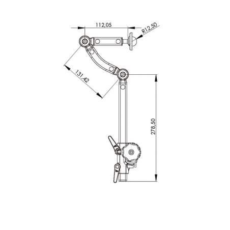 Fixing system for cuffs HA.KO.ALU