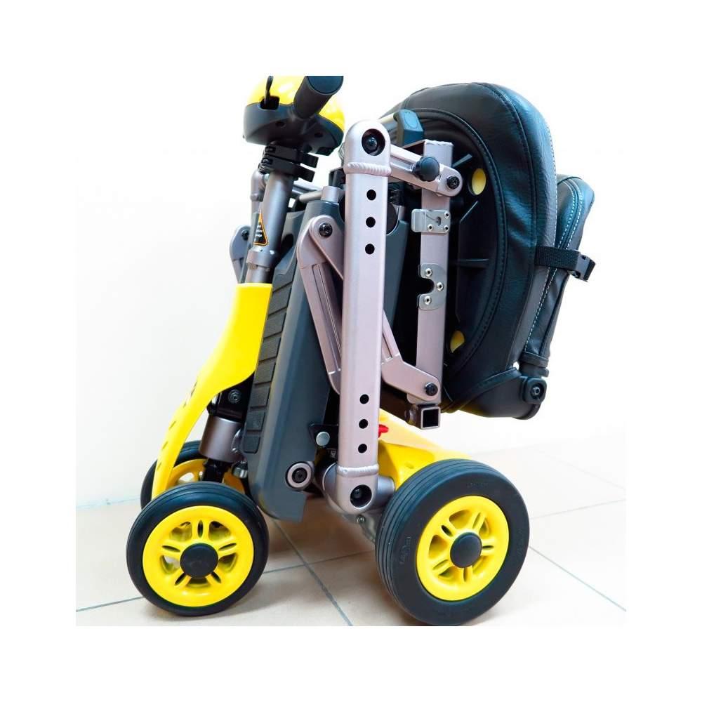 Scooter Plegable YOGA Teyder - El scooter plegable YOGA es uno de los modelos más ligeros del mercado. Su facilidad de plegado facilita el transporte.