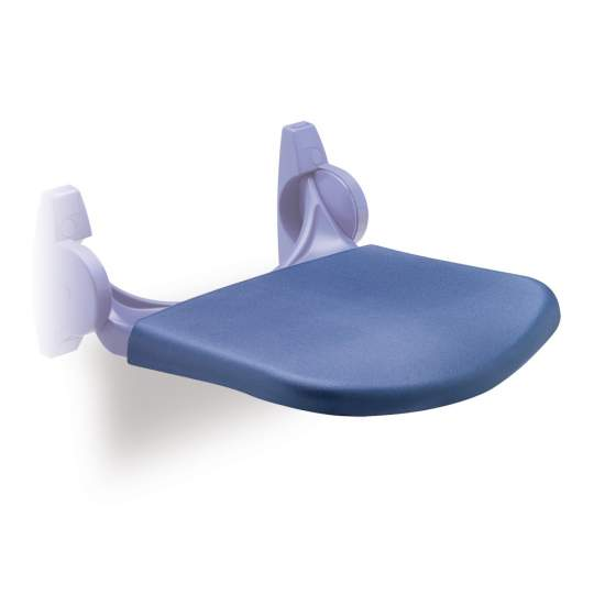SOFT SEAT SEAT SHOWER FOR PLASTIC BLUE - SOFT SEAT SEAT SHOWER FOR PLASTIC BLUE