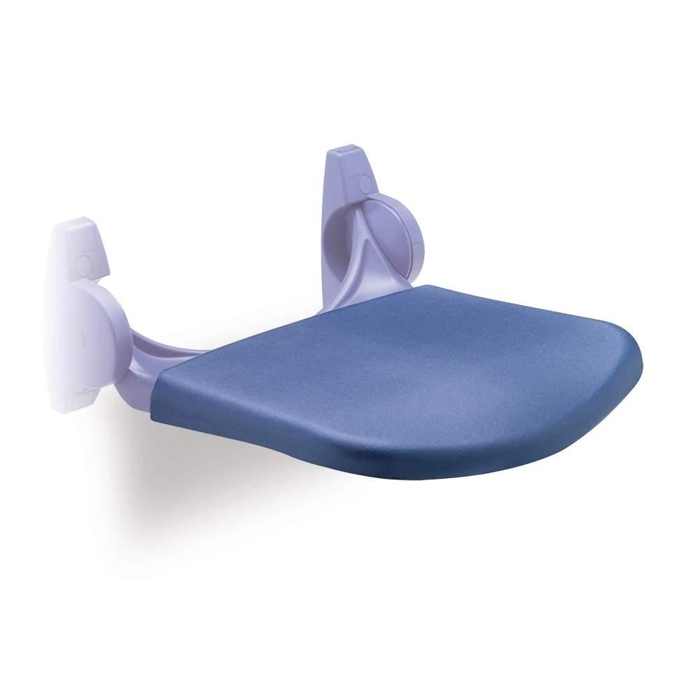 SOFT CHUVEIRO seat DE PLÁSTICO AZUL