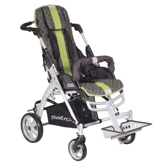 Poussette Jacko -  La nouvelle poussette Jacko est conçu pour les enfants ayant des besoins posturaux doux et seulement besoin d'un système de siège inclinable réglable et repose-pieds et la hauteur de l'angle.
