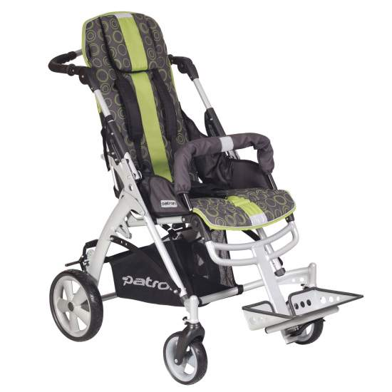 Stroller Jacko -  The new stroller Jacko is designed for children with mild postural needs and only need a system of adjustable reclining seat and footrest height and angle.