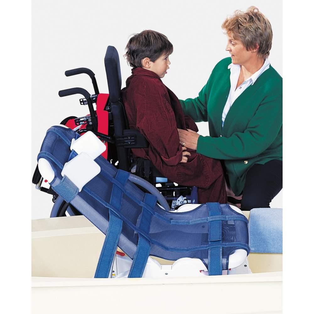 Seggiolino da bagno Onda Verde - La sedia doccia Greenwave combina il comfort con un design utile e funzionale.