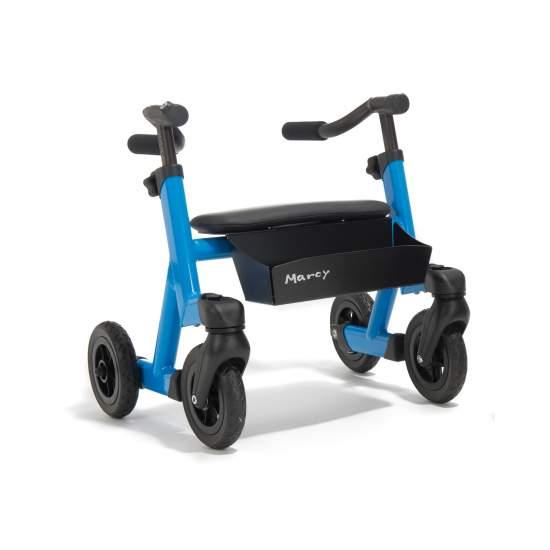 Marcy Andador Infantil - Marcy es un andador anterior. Después de escuchar las peticiones de usuarios hemos desarrollado el verdadero andador para niños Marcy. Sus estudiadas dimensiones y todas sus opciones permiten al niño una máxima independencia y movilidad.