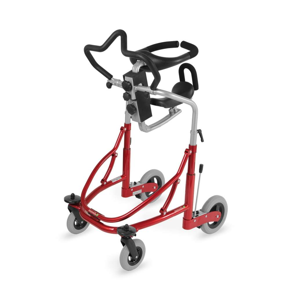 Walker Meywalk 4 - The Meywalk 4 is a walker designed for patients requiring a high degree of help and support to get up and walk.