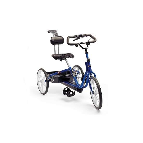 Rifton triciclo - Graças aos triciclos Rifton é melhorada a força das pernas, equilíbrio, força, entre outros aspectos físicos.