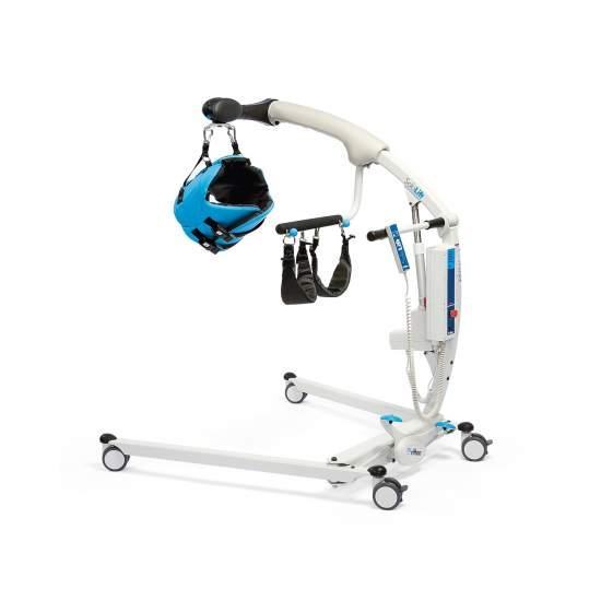 Grues Sololift - Sololift transfert est une grue qui peut être utilisé à la fois comme un ascenseur debout, un monde de nouvelles possibilités pour les utilisateurs handicapés et de prévenir les blessures au dos par leurs soignants.