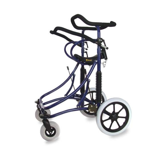 Andador con amortiguación Meywalk 2000 - El Meywalk 2000 está indicado para niños de 7 a 14 años (mediano) y para gente joven de 14 años hasta adultos (grande).