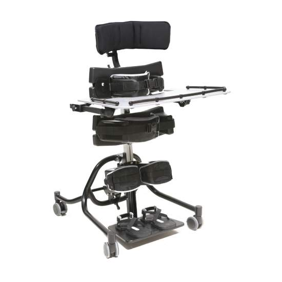 Prone and supine stander Multistander - A prone and supine stander very versatile, suitable for children from 9 months to 6 years old, for prone and supine standing.